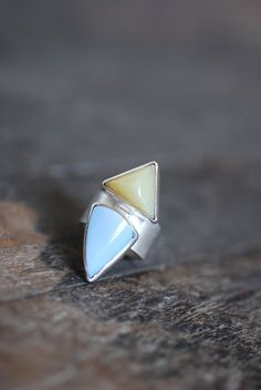 Dollybird Opal Talon Ring by dollybirddesign on Etsy, $250.00