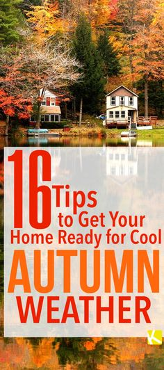 Prep your home for fall!