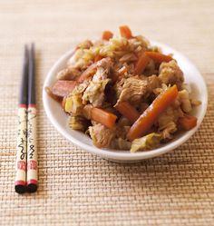 Wok de dinde aux carottes, miel et gingembre, la recette d'Ôdélices : retrouvez les ingrédients, la préparation, des recettes similaires et des photos qui donnent envie !