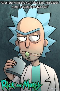 Because I LOVE Rick and Morty and I needed to do some fan art! Enjoy! Dwayne