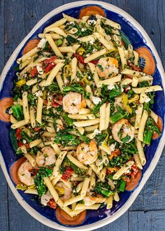 sundried tomato and broccolini pasta w/shrimp Bold spices, fresh herbs and a little heat give this shrimp pasta a bold, zesty flavor. Seafood Recipes, Pasta Recipes, Cooking Recipes, Healthy Recipes, Dinner Recipes, Fun Recipes, Recipe Ideas, Cooking Tips, Rachel Ray Recipes