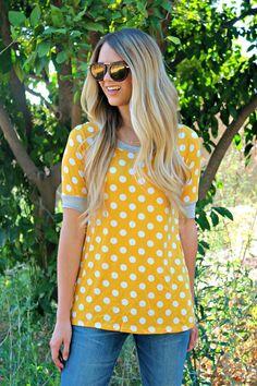 Luxe Polka Dot Tees! | Jane