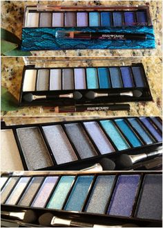 Blue Eyeshadow Palette by HARD CANDY, good brand, affordable & very pigmented shadows!! My review score for this product(5's  out of 5)