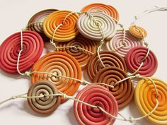spirals from fimo