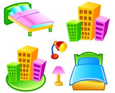 Free Vector Hotel Icons Vector Free Download, Free Vector Graphics, Free Vector Art, Free Vector Images, Vector Icons, Art Images, Icon Design, Adobe Illustrator, Graphic Art