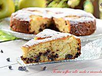 Torta soffice alle mele e cioccolato-ricetta buonissima!
