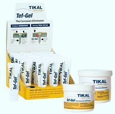 Tikal Tef gel είναι ένα υδατοστεγές υλικό , σε μορφή πάστας με βάση το τεφλόν. Προστατεύει την επιφάνεια του μετάλλου από οποιαδήποτε μορφή διάβρωσης. 2104611554 2104630676 6972179416 6974065838 www.theppsltd.thepps.eu  Η ΛΥΣΗ