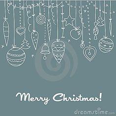 Hand Drawn raam schildering kerstmis