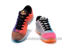"""Discover the 2017 Nike Kobe 10 Elite Low Multi-Color """"What The"""" Mens Basketball Shoes For Sale group at Pumacreeper. Shop 2017 Nike Kobe 10 Elite Low Multi-Color """"What The"""" Mens Basketball Shoes For Sale black, grey, blue and more. Nike Kids Shoes, Jordan Shoes For Kids, Nike Shox Shoes, New Nike Shoes, New Jordans Shoes, Michael Jordan Shoes, Pumas Shoes, Adidas Shoes, Shoes Uk"""