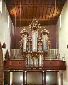 Aarau - Evangelische Stadtkirche - Theodor Kuhn A.G. (1962)