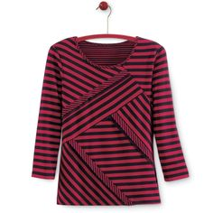 Angled Stripes Top - Women's Clothing, Jewelry, Fashion Accessories and Gifts for Women with a Flair of the Outdoors | NorthStyle