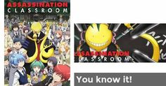 You know it! | Assassination Classroom Knowledge