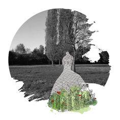 """Ephemeral garden festival """"Dans le Jardin de William Christie"""" - Contest phase - Sandy MOREAU"""