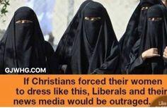 MEME REVEALS: The Brutal Hypocrisy of Liberals on Islam vs. Christianity