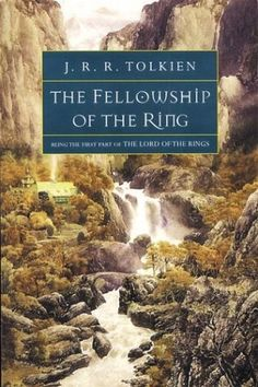 The Fellowship of the Ring- J.R.R Tolkien- this book almost killed me but it was worth it, such a good series of books!