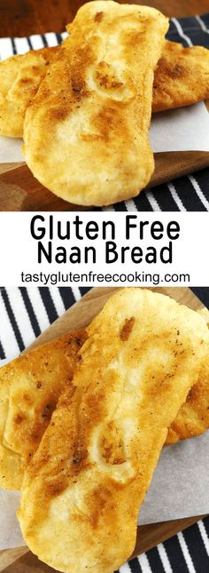 Super Easy Gluten-Free Naan Bread - Tasty Gluten Free Cooking