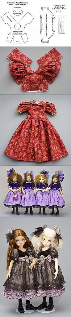 Ideas for doll clothes sewing patterns barbie dress Sewing Doll Clothes, Sewing Dolls, Girl Doll Clothes, Barbie Clothes, Diy Clothes, Dress Sewing, Dress Clothes, Sewing Shorts, Barbie Toys