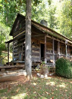 Artist Retreat Sugar Creek Log Cabin 23 Acres Stream