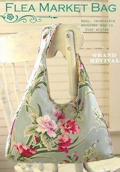 Flea Market Bag Pattern by Tanya Whelan
