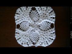 Popcorn motif yatak örtüsü - Bademli çiçek motifi - YouTube