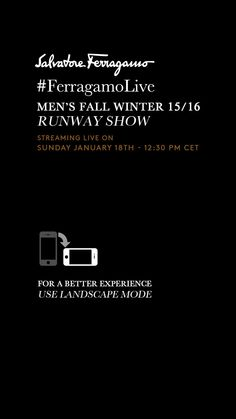 Salvatore Ferragamo - Diretta Sfilata - Fashion Show Live Streaming