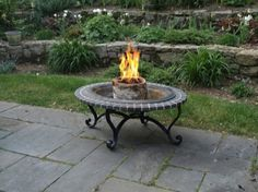 Easy Outdoor Ambiance: Light 'n Go Bonfire Log   Apartment Therapy