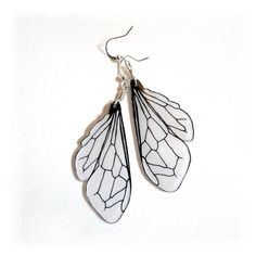 Unrelated to beekeeping, but these honey bee wing earrings by horseflesh are adorable! $17.00