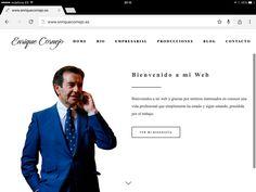 Os presento mi nueva web.  www.enriquecornejo.es
