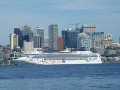 Alaskan cruise out of Seattle, Washington