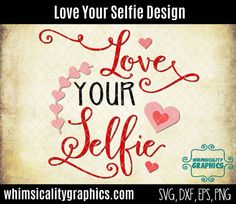 This product is a compressed zip of digital files (SVG, DXF, PNG and EPS) of our Love Your Selfie Valentine Design graphic. This zip file is for COMMERCIAL and PERSONAL USE. If you would like it only for personal use, please request a CUSTOM ORDER. The personal use only file is always $1 less than the commercial price. INCLUDED: 1 SVG File 1 DXF File 1 PNG Trace File 1 PNG Transparent File 1 EPS File  This is an INSTANT DOWNLOAD. Digital files, once purchased, you can download the zip folder…