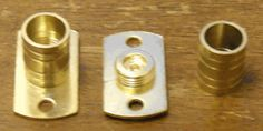 Inside Mount Bracket for Solid Curtain Rod. Sold by the pair.  Screws included.   0752.063 $4.59
