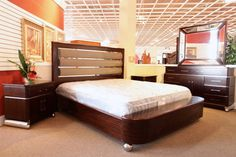 Aico King Bedroom Set - Colleen's Classic Consignment, Las Vegas, NV - www.colleenconsign.com