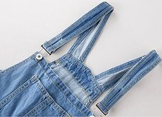 KLJR Women Stretch Distressed Ripped Overalls Slim Fit Stylish Denim Overalls