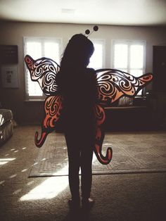 {Little Butterfly} Spreading her wings so that she may fly ....