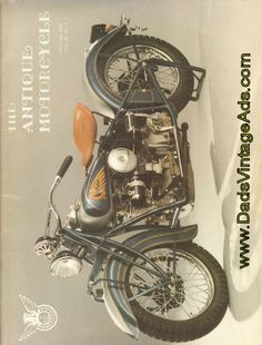 1939 Indian Four Antique Motorcycle