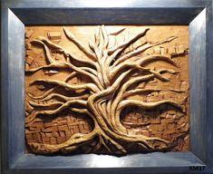 bas relief art | Salon de sculpture sur bois 2013 - les bas reliefs