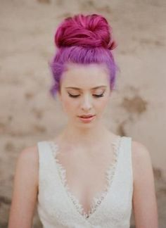 Color Crush: Radiant Orchid | The Design Centré. Colour your hair Pantone's official shade of 2014!