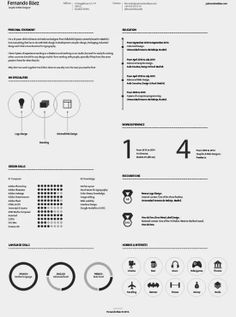 Elegante One Page Elegant One Page Resume Template  Tailor Made