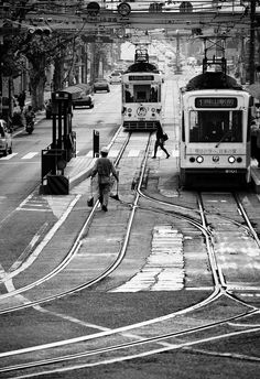 """Tram"" by Tashi Delek, via 500px."