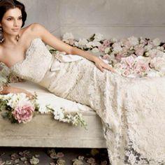 Valentino lace wedding dress, gorgeous!