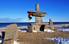 If you visit Churchill, Manitoba, you won't be bouncing around like you're on the moon, but its lower gravity is a scientific oddity.