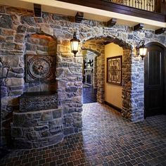 Beautiful custom home with our @gsharrisco Ridgestone (Color: Arcadian)⠀ -----⠀ www.KodiakMountain.com ⠀ -----⠀ #KodiakMountainStone⠀ ⠀ Custom Homes, Mountains, Stone, Beautiful, Home Decor, Color, Rock, Decoration Home, Room Decor