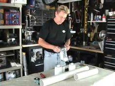 ▶ Air Cannon Episode 1 Build an Air Powered T-Shirt Launcher Part 1 - YouTube