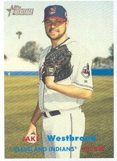 2006 Topps Heritage Baseball #455 Jake Westbrook MLB Trading Card by Topps Heritage. $1.99. 2006 Topps Co. trading card in near mint/mint condition, authenticated by Topps Collectibles