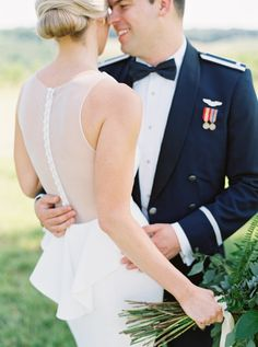 bride and groom from Charlottesville Virginia Wedding at The Market of Grelen