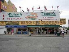 Original Nathan's in Coney Island.  This is where my Mom and Dad took me every time we went to Coney.  If they tried to take me any other place I complained!