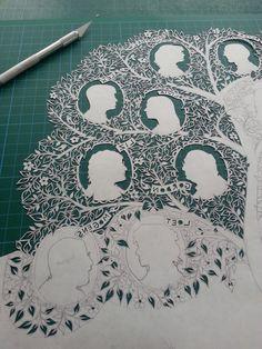 Folk Art Papercuts by Suzy Taylor