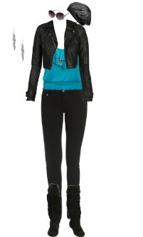WetSeal.com Runway Outfit:  backstage by Spring Child. Outfit Price $125.00