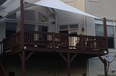 sail shade - Kim for your deck!! perfect