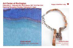 Art Center of Burlington Happy Valentines Day, Gallery, Valentino, San, Artist, Artists